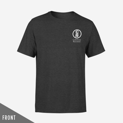 I Am CR Wordart T-Shirt Gray